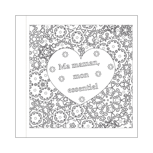 Colouring book for Mother's day