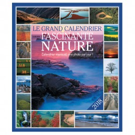 Le grand Calendrier Fascinante Nature 2018