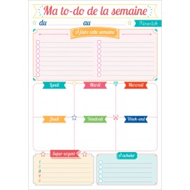 Ma to-do list du jour Mémoniak 2018