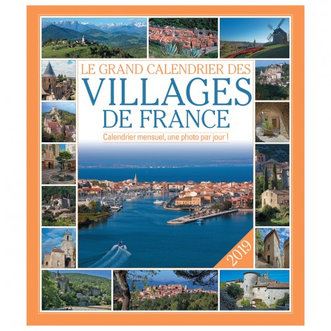 Le grand Calendrier des plus beaux villages de France 2019