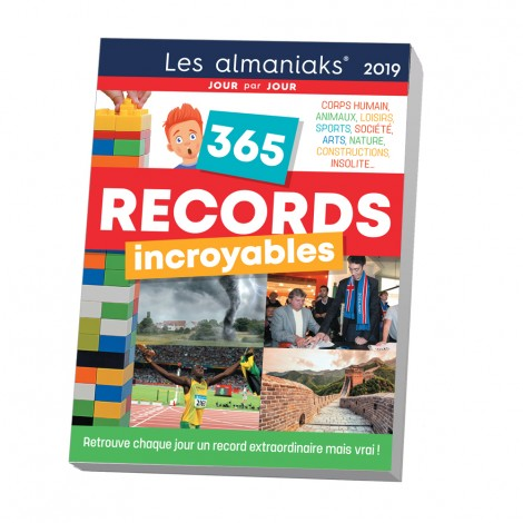 Almaniak 365 records incroyables 2019