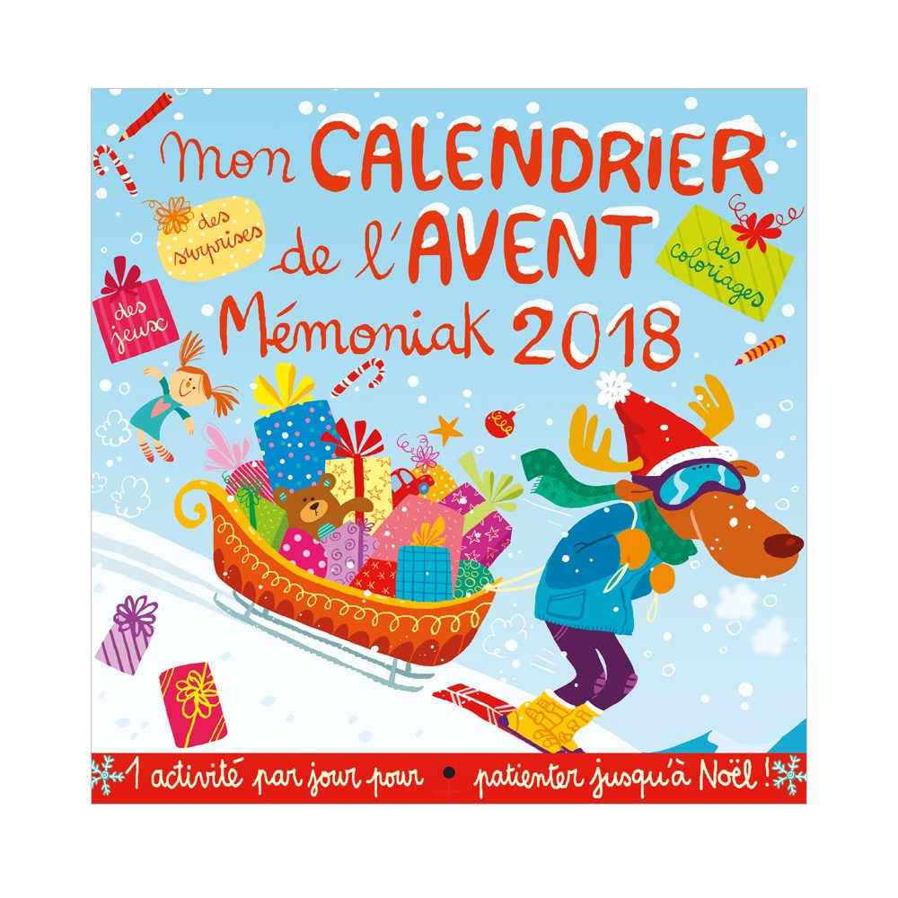 Calendrier Avent Kinder 2020.My Memoniak Advent Calendar 2018