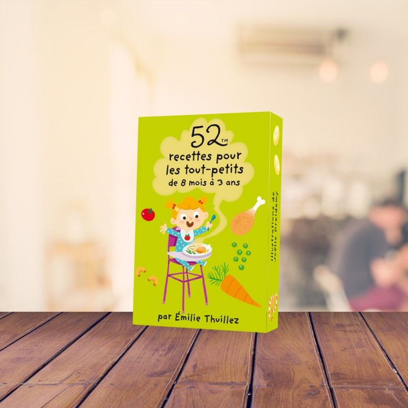 52 recipes for babies aged 8 months to 3 years