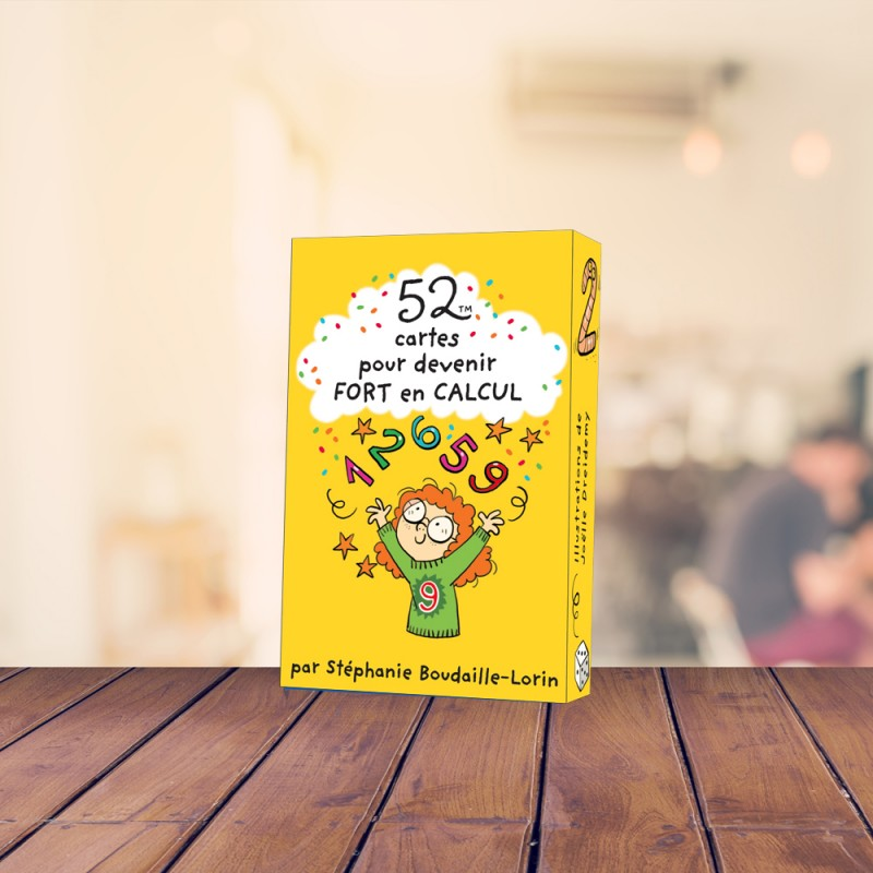 52 cards to become good at maths