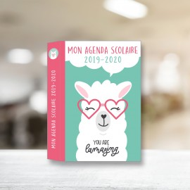 Mon agenda scolaire You're Lamazing 2019-2020