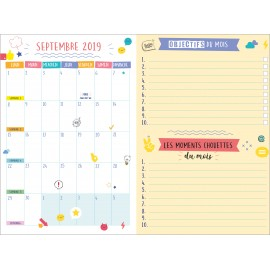 Mon agenda scolaire Be cool in school 2019-2020