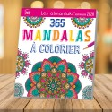 Almaniak Activities 365 mandalas to color 2019