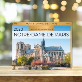 Panoramic calendar dream destinations 2020