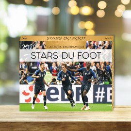 Agenda panoramique Stars du foot 2020