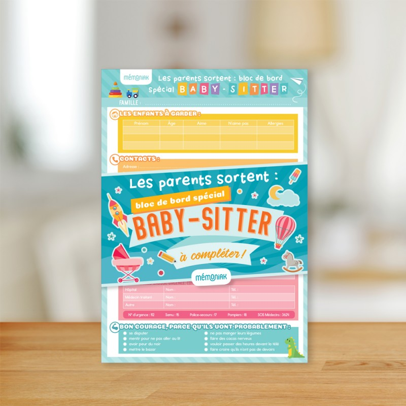 Parents go out: special babysitter block