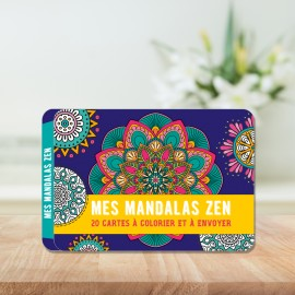 My Zen Mandalas - 20 cards to color and send