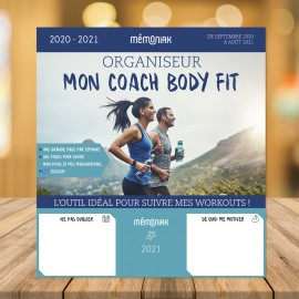 Organiseur Mon coach body fit 2020-2021