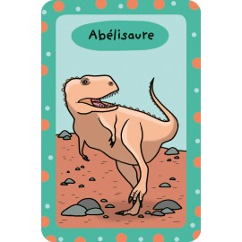52 cards to learn all about dinosaurs