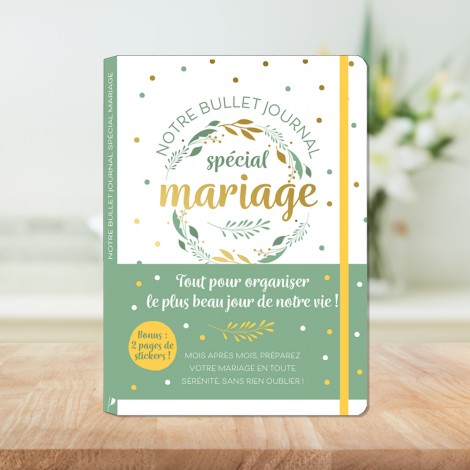 Our special wedding bullet journal - everything to organize the most beautiful day of your life