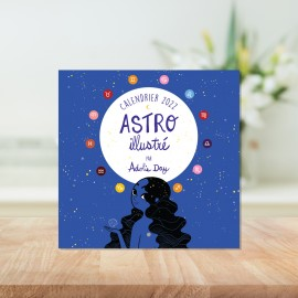 2022 Astro calendar illustrated by Adolie Day