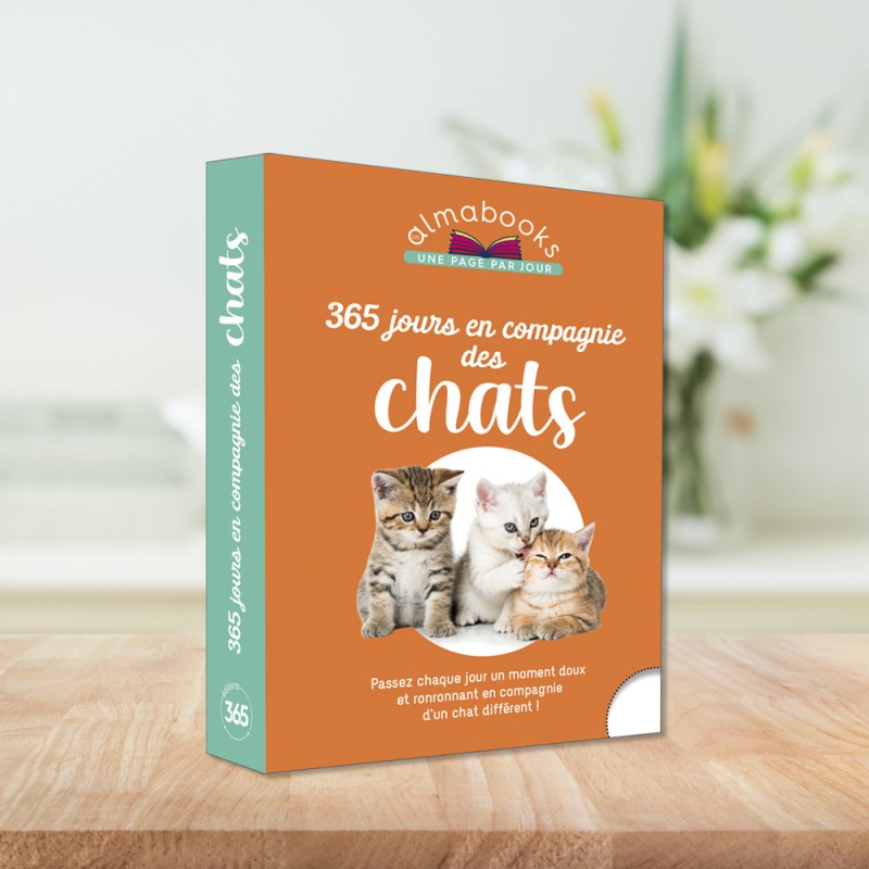 Almabook 365 days with cats