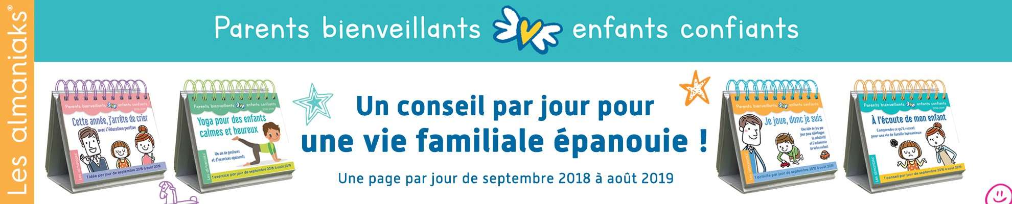 Almaniak Parents bienveillants - Enfants confiants